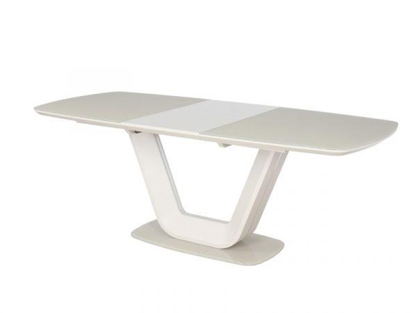 Стол обеденный SIGNAL ARMANI 160 раскладной, крем 160-220/90/76 NEW