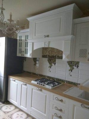 Кухня Массив ясеня «Симона»  Geos Ideal