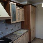 Зов - Кухня рамочный МДФ пленка + столешница Кедр