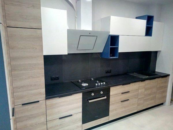 Кухня ЛДСП + столешница Slotex